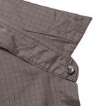 Brown Shirt under collar detail