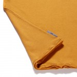 T Shirt Mustard_Detail1